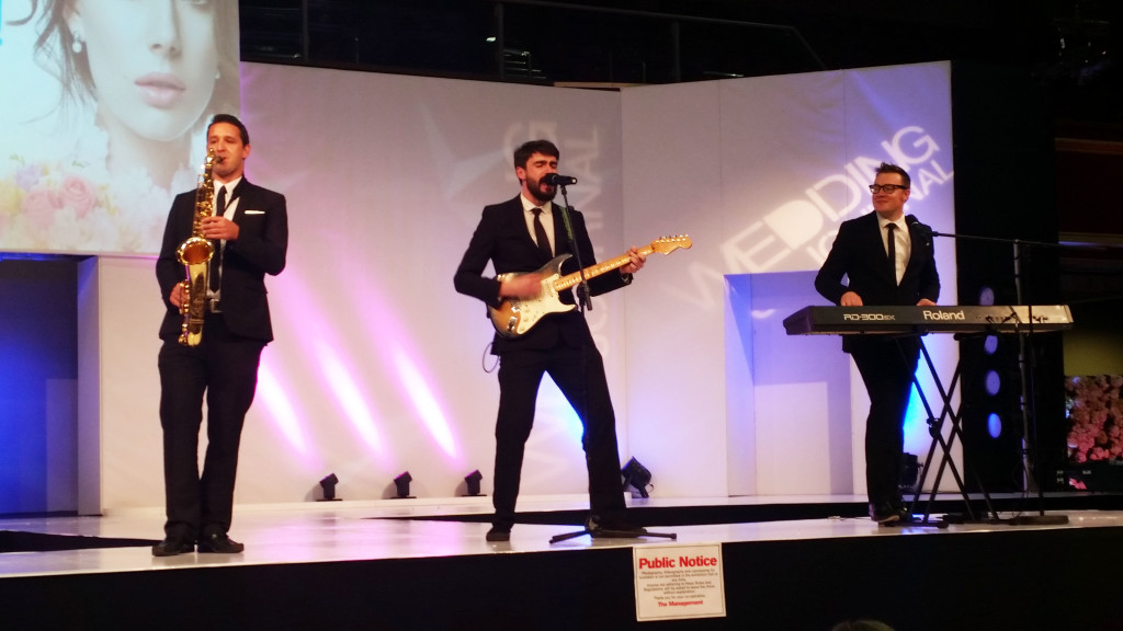 Rockafellas take to the main stage at The Wedding Journal Show 2015.